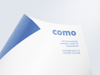 Como: Stationery Mockup Set