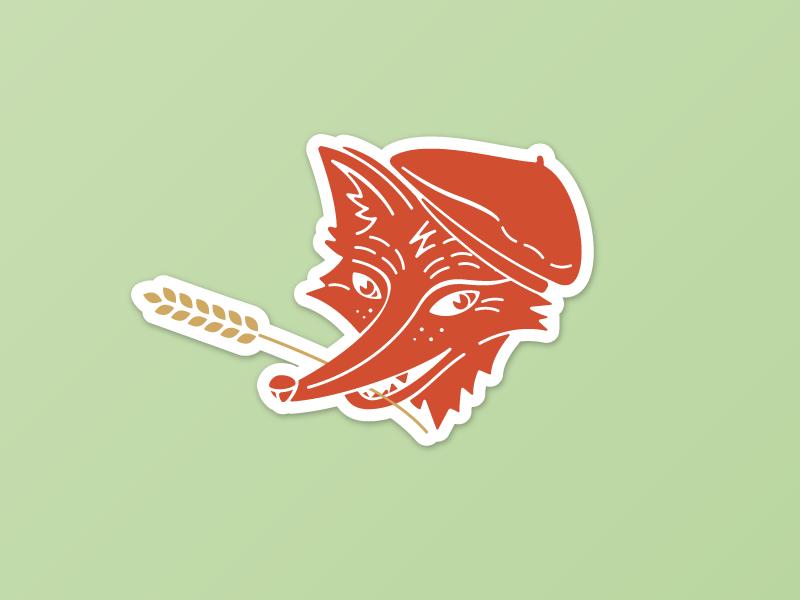 French Fox By Dasha Dribbble