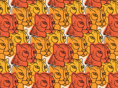 Seamless pattern textile seamless pattern clean cat best logo design flat vector character illustration