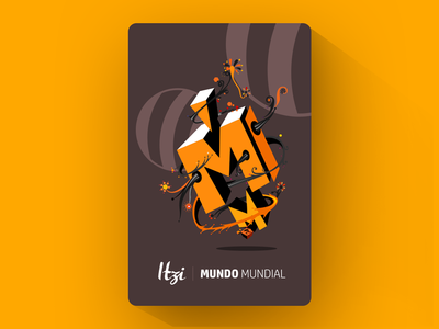 ITZI Card | Mundo mundial collection