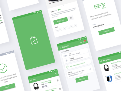 E-commerce UI App for Android