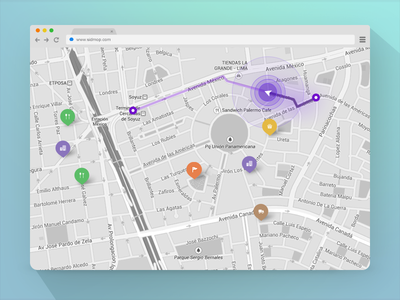 Tracking Map | Sidmop App peru app web tracking map sidmop brand