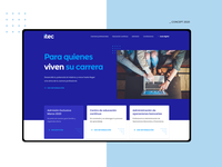 ITEC Webdesign branding brand web ui webdesig website