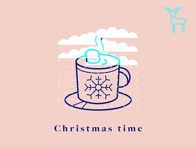 Christmas Time graphic winter icon christmas