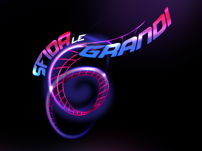Gardaland | Sfida le 6 Grandi | New Logo artdirection brand logo