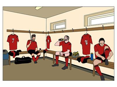 Digital Illustration new season football sport vector adobe illustrator illustration