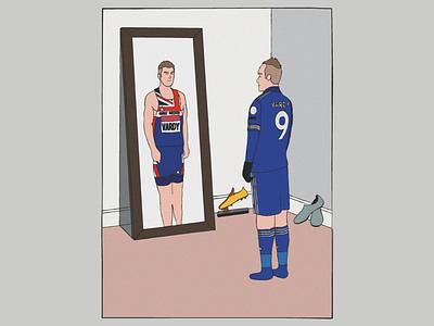 Digital Illustration olympics premier league vector leicester football adobe illustrator illustration