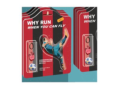 Digital Illustration graphic design italy ac milan football adobe illustrator vector illustration