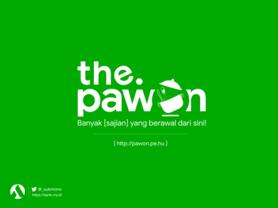 Redesign Logo Pawon 2020 greenboxindonesia pawonlogo logobrand logotype logo design logo