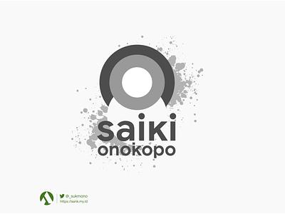 """Logo """"Saiki OnokOpo"""" sensai metal design branding logobrand logo design logos designs greenboxindonesia logodesign logotype logo"""