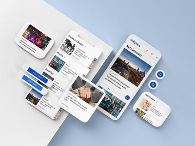 Biznesinfo.pl - Your door to the world of businnes design ideas interface website ui