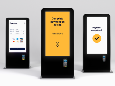 You can pump it up quicker with our self-service kiosk design! userfriendly ideas ui service interface design system design