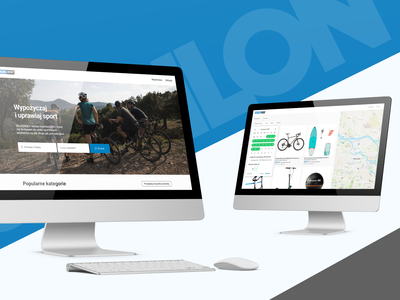 We did UX work for Decathlon Rent! Come take a look! logo design service ui interface design system