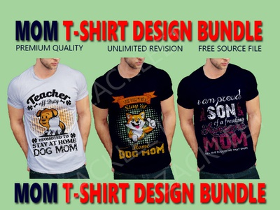 MOM T SHIRT DESIGN BUNDLE
