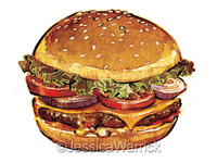 Hamburger Stock illustration