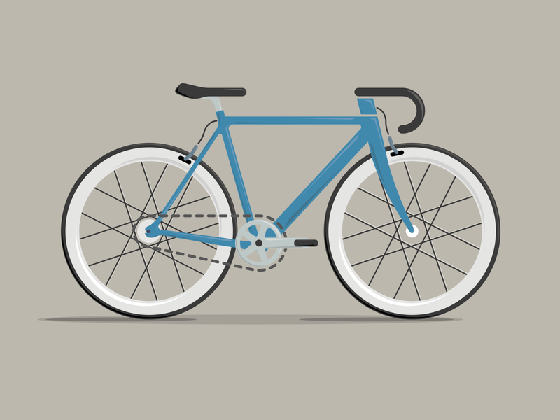 Bike Illustration art flat app illustrator icon branding vector ui design graphicdesign graphic illustration bike