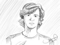 First Sketch - Self Portrait
