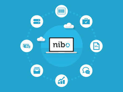 Nibo Features icons finances features cloud nibo accountant blue