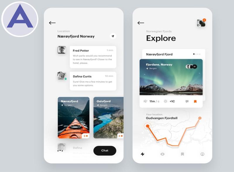 UI/UX Design For Travel App