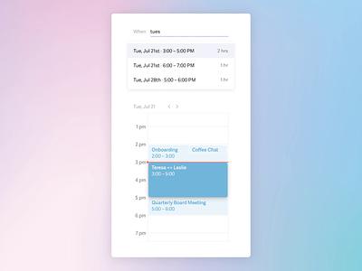 Superhuman — Calendar principle calendar animation email ios superhuman mobile ux ui design