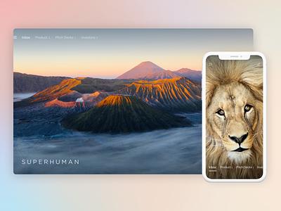 Superhuman — Inbox Zero unsplash iphone app mobile ios email ui ux design superhuman inbox zero