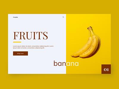 Frutatin uidesign uiux typography design ux web ui