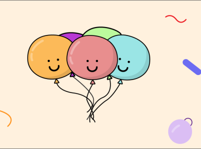Cutest Balloons icon graphic design vector illustrations happy designing designing illustrator design