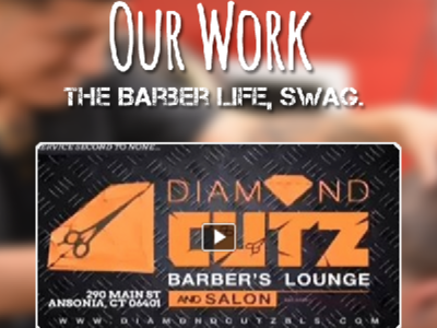 """Diamond Cutz """"Our Work"""" page"""