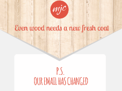 Change our email campaign
