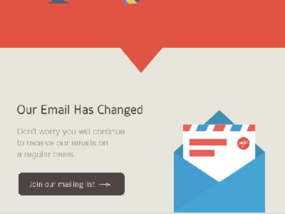 Change our email campaign V2