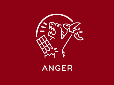Kindred icons mood anger