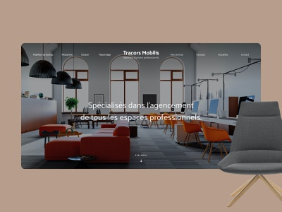 Tracors Mobilis redesign real estate house mood interior motion uiux ui