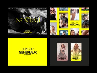 Ludovic Geheniaux Branding identity branding
