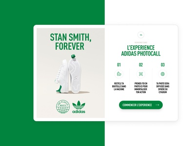 Citadium x Adidas fashion french screen app events
