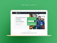 AZAPA - V2 homepage