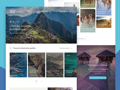 //WIP// Les Comptoirs du Monde ux ui webdesign