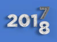 Bye 2017 - Hello 2018