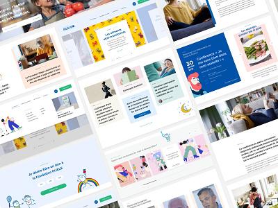 Redesign Pijeli Fundation art direction web redesign