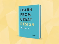 Learn from Great Design Volume 1 Cover Design