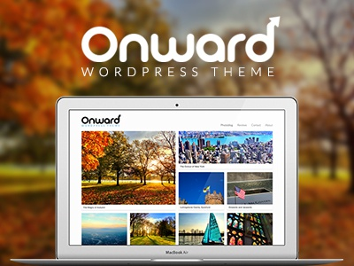 Onward Launch wordpress theme wordpress theme logo photography portfolio background
