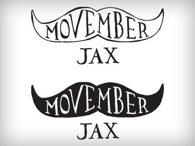 Movember jax logo dribbble