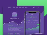 Lunes Wallet - Landing Page