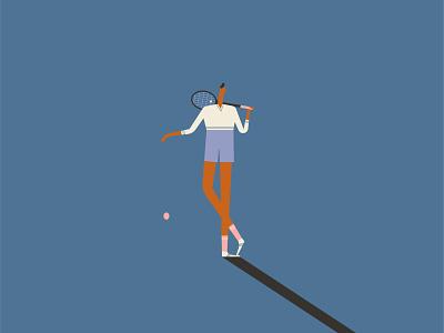 Aussie Open male shadow bestvector vector character tennis ball roger federer australia tennis