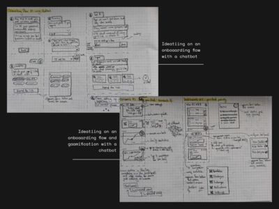 Detailed sketches - exploring ideas with Chatbot