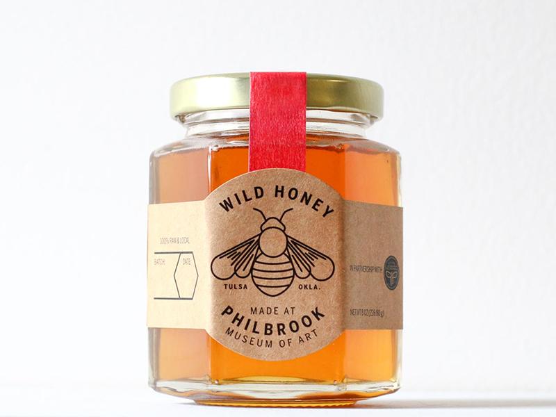 Philbrook Honey oklahoma tulsa philbrook bee honey