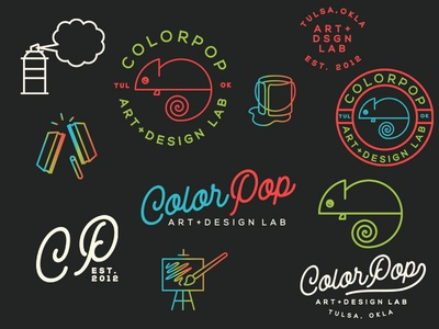 Branding Marks for ColorPop