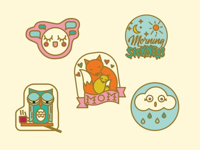 Parent Pins - pin designs