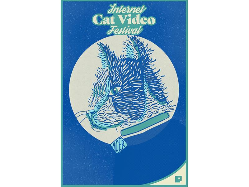 Acer Poster illustration poster cat acer
