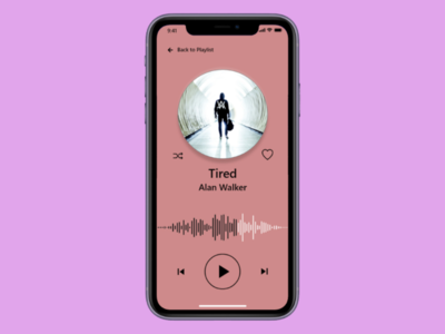 Music App - Daily UI 009