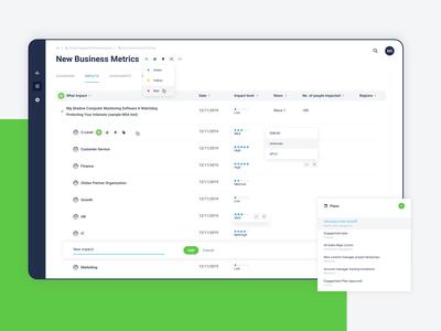 Dribble chama 1 table data enterprise enterprise app enterprise ux saas web design web app ux design ux